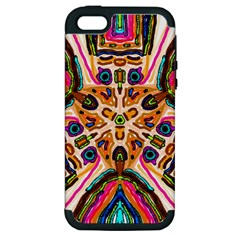 Ethnic You Collecition Apple Iphone 5 Hardshell Case (pc+silicone)