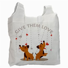 Give Them Love Recycle Bag (One Side)