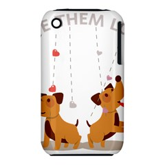 Give Them Love Apple iPhone 3G/3GS Hardshell Case (PC+Silicone)