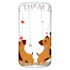 Give Them Love Samsung Galaxy S3 S III Classic Hardshell Back Case