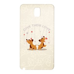 Give Them Love Samsung Galaxy Note 3 N9005 Hardshell Back Case