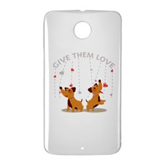 Give Them Love Nexus 6 Case (White)