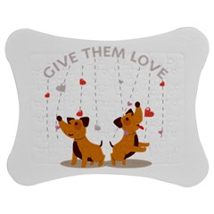 Give Them Love Jigsaw Puzzle Photo Stand (Bow)