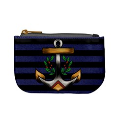 Anchor & Stripes Coin Change Purse