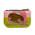 I Carried a Watermelon Coin Change Purse Back