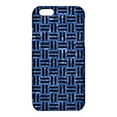 WOV1 BK-BL MARBLE (R) iPhone 6/6S TPU Case