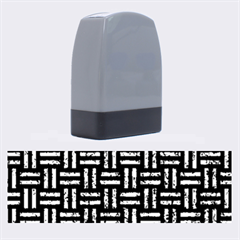 WOV1 BK-BL MARBLE Name Stamps