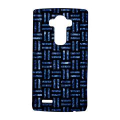WOV1 BK-BL MARBLE LG G4 Hardshell Case