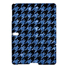 Houndstooth1 Black Marble & Blue Marble Samsung Galaxy Tab S (10 5 ) Hardshell Case