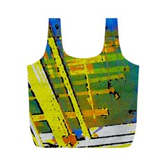 Pretty In Yellow Full Print Recycle Bag (m)