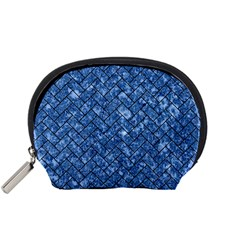 Brick2 Black Marble & Blue Marble (r) Accessory Pouch (small)