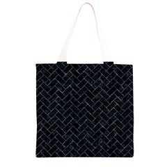 BRK2 BK-BL MARBLE Grocery Light Tote Bag