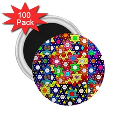 Star Of David 2 25  Magnets (100 Pack)