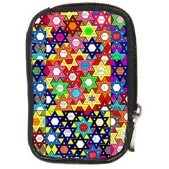 Star Of David Compact Camera Cases