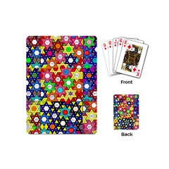 Star Of David Playing Cards (mini)