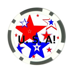 The Patriot Usa Poker Chip Card Guards