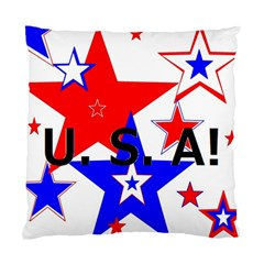 The Patriot Usa Standard Cushion Case (two Sides)