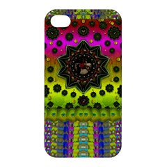 Stars A Dove A  Woodo Stratocaster In Peace And Leather Apple iPhone 4/4S Premium Hardshell Case
