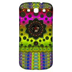 Stars A Dove A  Woodo Stratocaster In Peace And Leather Samsung Galaxy S3 S III Classic Hardshell Back Case