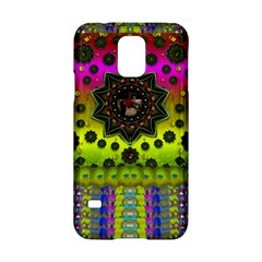 Stars A Dove A  Woodo Stratocaster In Peace And Leather Samsung Galaxy S5 Hardshell Case