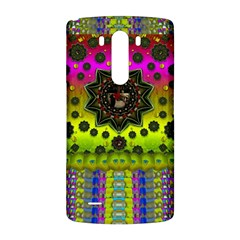 Stars A Dove A  Woodo Stratocaster In Peace And Leather LG G3 Back Case
