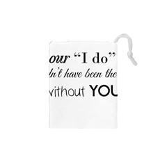 Wedding Favor/Thank You Drawstring Pouches (XS)