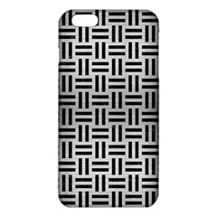 WOV1 BK MARBLE SILVER (R) iPhone 6 Plus/6S Plus TPU Case
