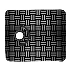 Woven1 Black Marble & Silver Brushed Metal Samsung Galaxy S  Iii Flip 360 Case