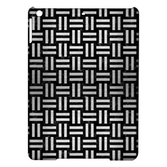 Woven1 Black Marble & Silver Brushed Metal Apple Ipad Air Hardshell Case