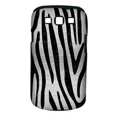 Skin4 Black Marble & Silver Brushed Metal Samsung Galaxy S Iii Classic Hardshell Case (pc+silicone)