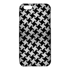 HTH2 BK MARBLE SILVER iPhone 6/6S TPU Case