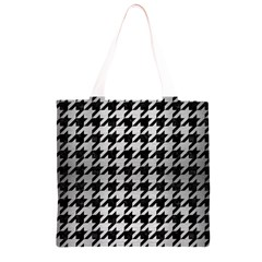 HTH1 BK MARBLE SILVER Grocery Light Tote Bag