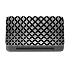 Circles3 Black Marble & Silver Brushed Metal (r) Memory Card Reader With Cf