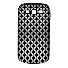 Circles3 Black Marble & Silver Brushed Metal Samsung Galaxy S Iii Classic Hardshell Case (pc+silicone)