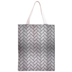 BRK2 BK MARBLE SILVER (R) Classic Light Tote Bag