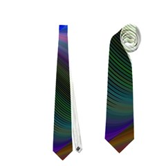 Eye Of The Galactic Storm Neckties (two Side)