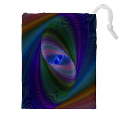 Eye Of The Galactic Storm Drawstring Pouches (XXL)