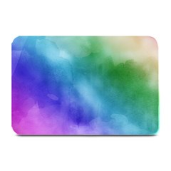 Rainbow Watercolor Plate Mats