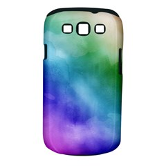 Rainbow Watercolor Samsung Galaxy S Iii Classic Hardshell Case (pc+silicone)