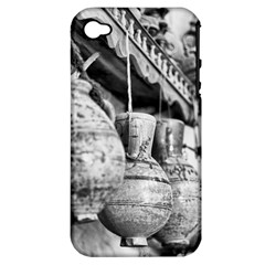 Ancient Hanging pottery Apple iPhone 4/4S Hardshell Case (PC+Silicone)