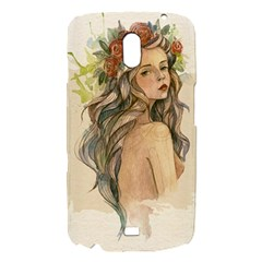 Beauty Of A woman In Watercolor Style Samsung Galaxy Nexus i9250 Hardshell Case