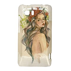 Beauty Of A woman In Watercolor Style HTC Vivid / Raider 4G Hardshell Case