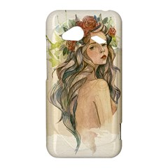 Beauty Of A woman In Watercolor Style HTC Droid Incredible 4G LTE Hardshell Case
