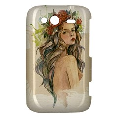 Beauty Of A woman In Watercolor Style HTC Wildfire S A510e Hardshell Case