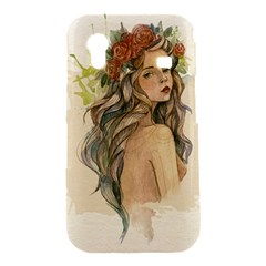 Beauty Of A woman In Watercolor Style Samsung Galaxy Ace S5830 Hardshell Case