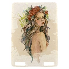 Beauty Of A woman In Watercolor Style Kindle Touch 3G