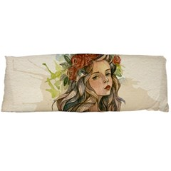 Beauty Of A woman In Watercolor Style Body Pillow Case Dakimakura (Two Sides)