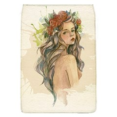 Beauty Of A woman In Watercolor Style Flap Covers (L)
