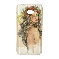 Beauty Of A woman In Watercolor Style HTC Butterfly S/HTC 9060 Hardshell Case