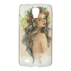 Beauty Of A woman In Watercolor Style Galaxy S4 Active